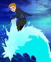 iceman surfing by Brockleon