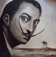 Salvador Dali by lewyj