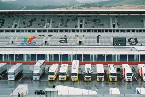 2009, AIA, Portimao, paddock testes by F1PAM