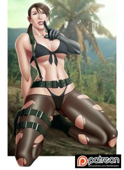 PATREON - Quiet MGSV by IDarkShadowI