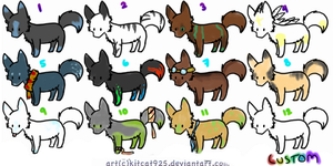 Cheap Wolf Adopts! by DragonsAdopts