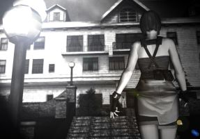 Jill Valentine - Horror Movie by bertoldizinho