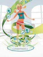 Wii Fit Editorial by RA1THE