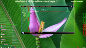 windows8aRtist edition visual style by swapnil36fg