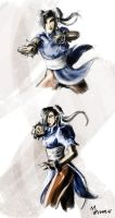 Chun Li quickies by mansarali