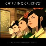 Chirping Crickets by SaucePear