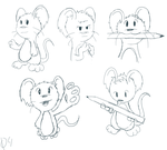 Mouse sketches 2 by 041744