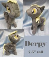 Derpy Plush by bluepaws21
