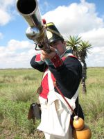 Mex 4th Line Inf Aiming by Like--A--Fox