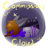 Commission status-- by coffaefox