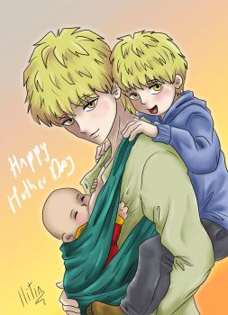 Happy Mother day Genos by ILITIAFOREVER