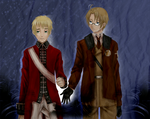:APH: Lost you that day by Inupii