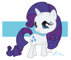Rarity Kawaii by DCRmx