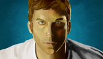 Painting Practice - Dexter by GhostsandDecay