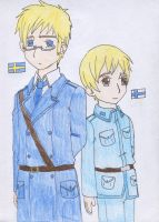 Sweden and Finland by SwiftNinja91