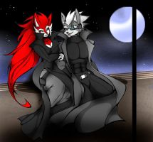 THE NIGHT CONVERSATION by WhiteFox89
