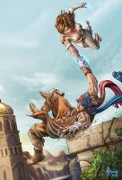 Prince of Persia by Matelandia