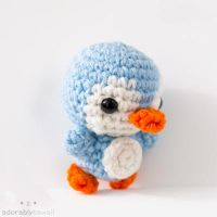 mini penguin 2 by tinyowlknits