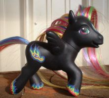 Schism the Custom Pony by essentiaforma