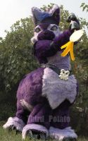 Submission: Dark Ixi by Fursuit