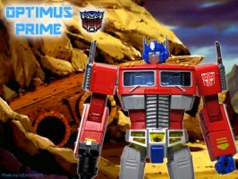 Optimus Prime - Hasbro / Takara Transformers by icemocha75