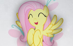 Simple Fluttershy Wallpaper by TheBlazyPics
