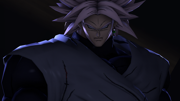 SFM: Broly Black WIP by RisingFlame12
