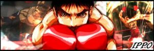 Ippo - Sign by Uek1