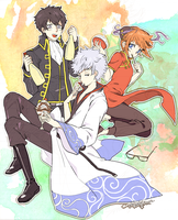 GINTAMA!!! by milleto