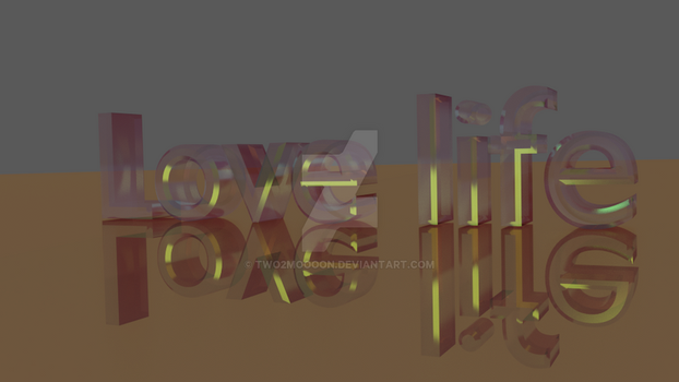 Font 3d by two2moooon
