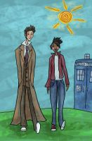 Martha and the Doctor by SmudgeThistle