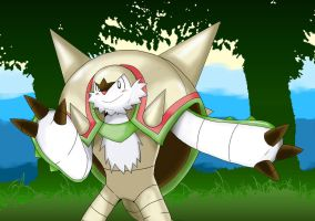 Chesnaught by POKA-chan