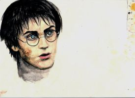 harry potter by Voodoo-kiss