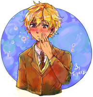 Blushing Nagisa by Tayday12
