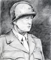 George Patton by FlashElectron