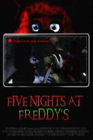 FIVE NIGHTS AT FREDDY'S Video Game Movie Poster by TheDarkRinnegan