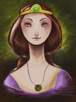 Queen Elinor by DragonBile