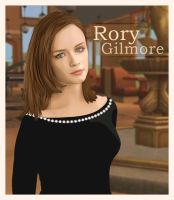 Rory Gilmore by vvee