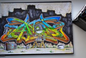 Graffiti by Marker83