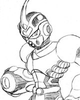 Irregular Reploid Guyver 001 by HiyashiX2