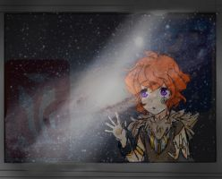 Peering into Space by AngelicReaper21