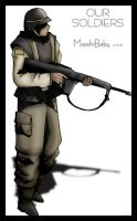 Soldier by macawnivore