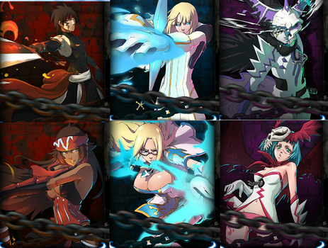 Bleach online Main characters by ancientstaff