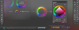 Tip#29: 12 basic colors on a RYB color wheel by Anastasiy