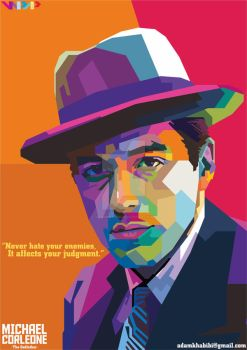 Michael Corleone (The Godfather) on WPAP by AdamKhabibi