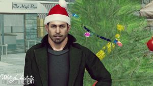 Chris Redfield - Merry Christmas by JhonyHebert