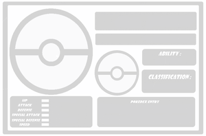 Pokemon: Template no evolution by Trueform