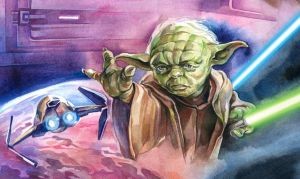 Yoda : RotS Close-up by Callista1981