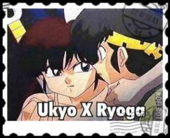 Ukyo and Ryoga Stamp by InuRanmaHalf