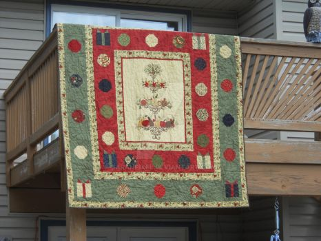 Pine Fresh Quilt by SarahPixel